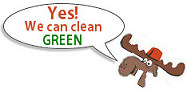 We use Green Products!